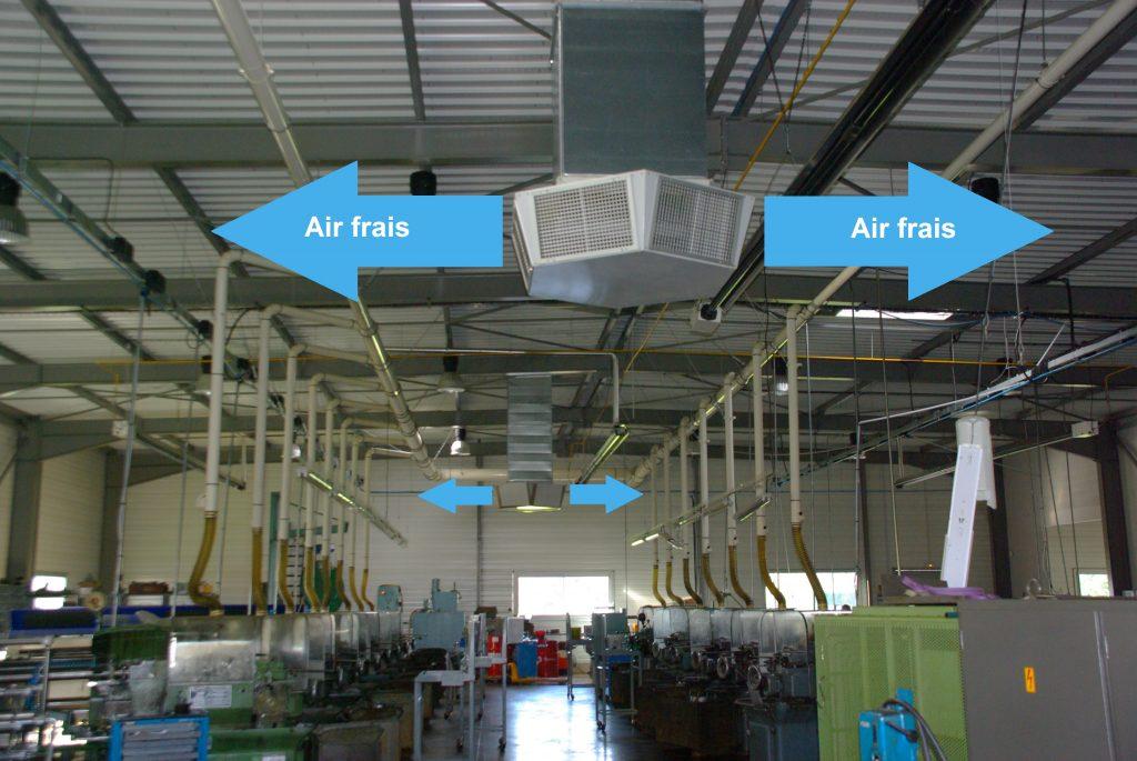 Refroidisseur adiabatique : la solution pour rafraîchir les ateliers d'usinage