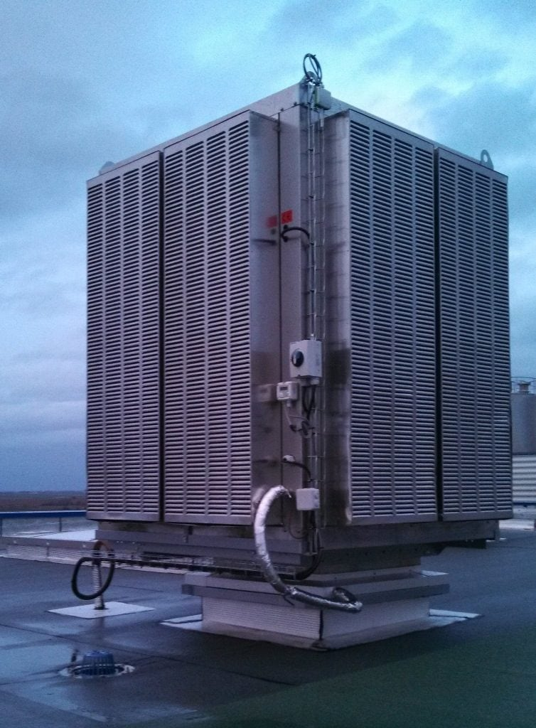 Climatisation d'usine Candia