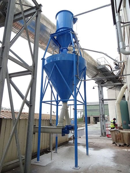 Installation nettoyage industriel