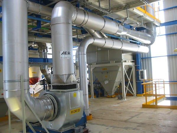 Dépoussiérage Industriel AER