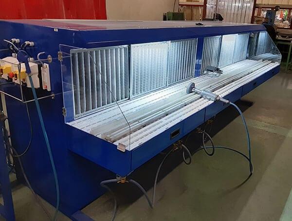 Table de ponçage aspirante AER