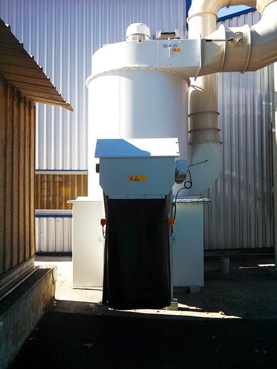 Dépoussiérage industriel - Séparateur par voie humide