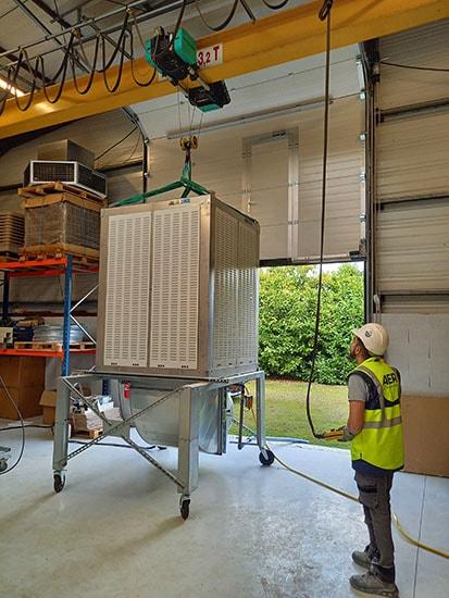 AER se développe - Climatisation industrielle